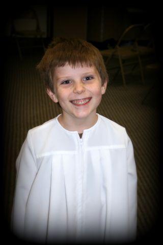 Lil' Mark's Baptism